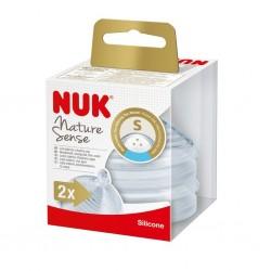 Savička Nature Sense Nuk S - 2 ks, Transparentní