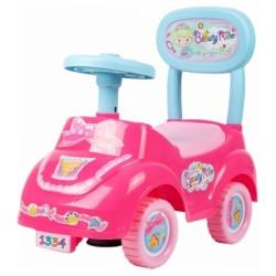 Tulimi Dětské odstrkovadlo, odrážedlo, jezdítko Beauty Rider, růžové