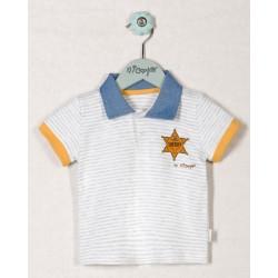 Bavlněné tričko WESTERN - krátký rukáv
