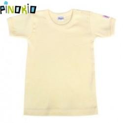 Tričko kr.rukáv PINOKIO - žlutá/krémová
