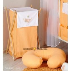 Luxusní praktický koš na prádlo - HOUPAČKA oranžová