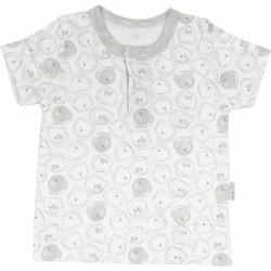 Bavlněné tričko/polo Veselí medvídci - krátký rukáv