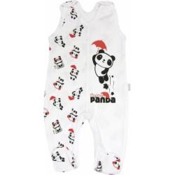 Kojenecké bavlněné dupačky Panda