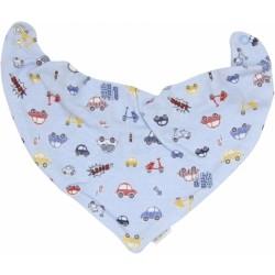 Dětský šátek na krk Veselé autíčko