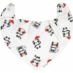 Dětský šátek na krk Panda