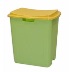 Plastový úložný box na hračky TOY&SIT - zelený