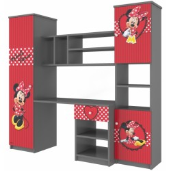 Dětská stěna Disney, 175x180 - Minnie Srdíčko