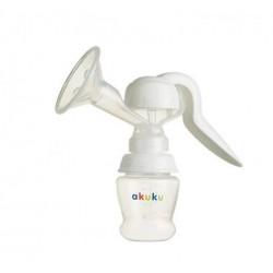 Manuální odsávačka mléka - bílá