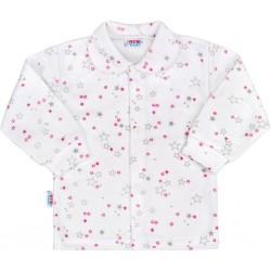 Kojenecký kabátek New Baby Magic Star růžový, Růžová, 74 (6-9m)