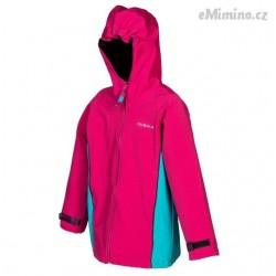 Softshellová dívčí bunda - růžová - ČESKÁ VÝROBA