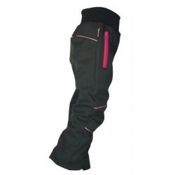 Softshellové kalhoty - dívčí - vel.86 - VÝPRODEJ