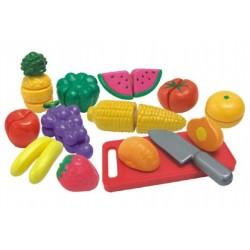 Ovoce a zelenina krájecí s náčiním plast 25ks v krabici