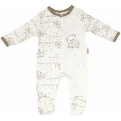 Kojenecký bavlněný overálek pro předčasně narozené děti Baby Teddy