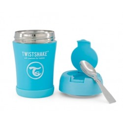 Termoska Twistshake na jídlo, 350 ml, modrá