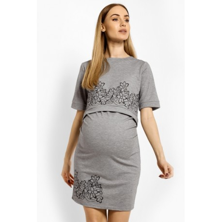 Elegantní těhotenské šaty bbc4529f6f