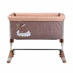 Postýlka Lorelli pro miminko SLEEP'N'CARE BEIGE ELEPHANT