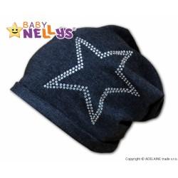 Bavlněná čepička Baby Nellys ® - Hvězdička