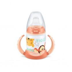 Kojenecká láhev na učení NUK 150 ml Disney Medvídek Pu oranžová, Oranžová