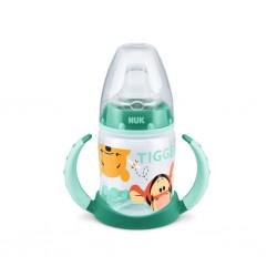 Kojenecká láhev na učení NUK 150 ml Disney Medvídek Pu zelená, Zelená