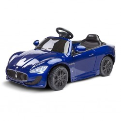 Elektrické autíčko Toyz MASERATI GRANCABRIO - 2 motory blue, Modrá