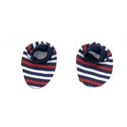 Botičky/ponožtičky BAVLNA Mamatti - Panda proužek