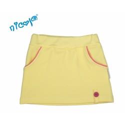 Kojenecká sukně Lady - žlutá