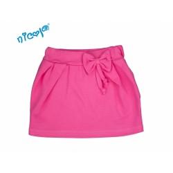 Kojenecká sukně Lady s mašlí - růžová