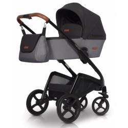 Dětský kočárek Euro Cart, Campo 2019  - antracit