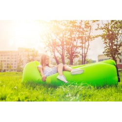 AirBag, vzduchový sedací a lehací vak, zelený