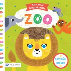 Knížka/leporelo Moje první dotyková knížka Zoo