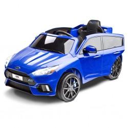 Elektrické autíčko Toyz FORD FOCUS RS - 2 motory blue, Modrá