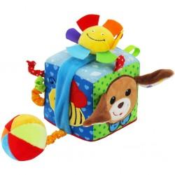 Interaktivní hračka Baby Mix kostka pejsek, Dle obrázku