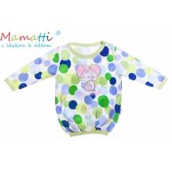 Bavlněné tričko Mamatti -Myška Puntík