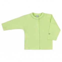 Kojenecký kabátek Bobas Fashion Mini Baby zelený, Zelená, 68 (4-6m)