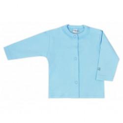Kojenecký kabátek Bobas Fashion Mini Baby tyrkysový, Tyrkysová, 74 (6-9m)