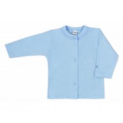 Kojenecký kabátek Bobas Fashion Mini Baby modrý, Modrá, 74 (6-9m)