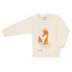 Kojenecká košilka Bobas Fashion Mini Baby smetanová, Smetanová, 68 (4-6m)