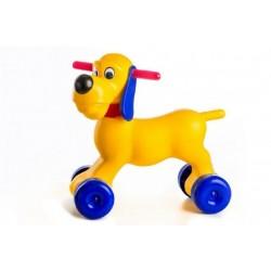 Odrážedlo pes plast výška sedadla 26cm nosnost do 20kg od 18 měsíců