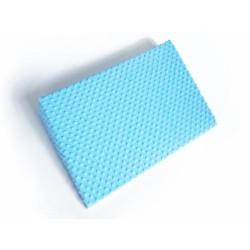 Zvýšená poloha - Klín - minky sv. modrá