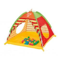Dětský stan na hraní Bestway s míčky, Multicolor