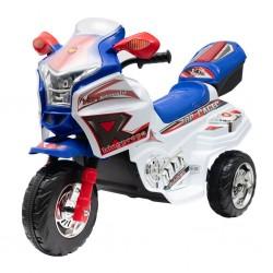 Dětská elektrická motorka Baby Mix RACER bílá, Bílá