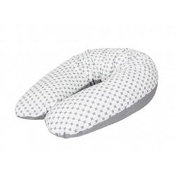 Kojící polštář - relaxační poduška Cebuška Physio Multi - Romby