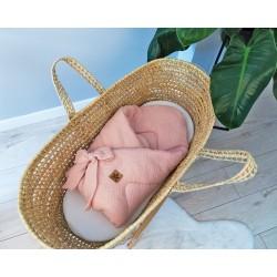 Baby Nellys Luxusní mušelínová zavinovačka - růžová