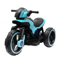 Dětská elektrická motorka Baby Mix POLICE modrá, Modrá