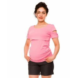 Těhotenské kraťasy Jeans Crush, černé