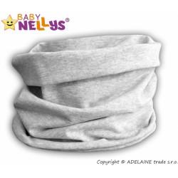 Nákrčník/komínek Baby Nellys ® - šedý