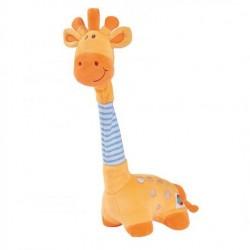 Žirafa hudební plyšová 32 cm natahovací