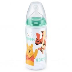 Kojenecká láhev NUK Medvídek Pú 300 ml zelená, Zelená