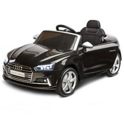 Elektrické autíčko Toyz AUDI S5 - 2 motory black, Černá