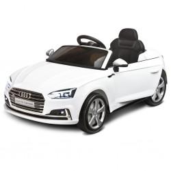 Elektrické autíčko Toyz AUDI S5 - 2 motory white, Bílá